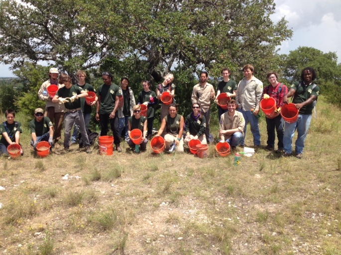 AYW seed collecting on SLC 2015-06-12
